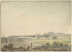 A walled town, S. India (probably Mysore) 111